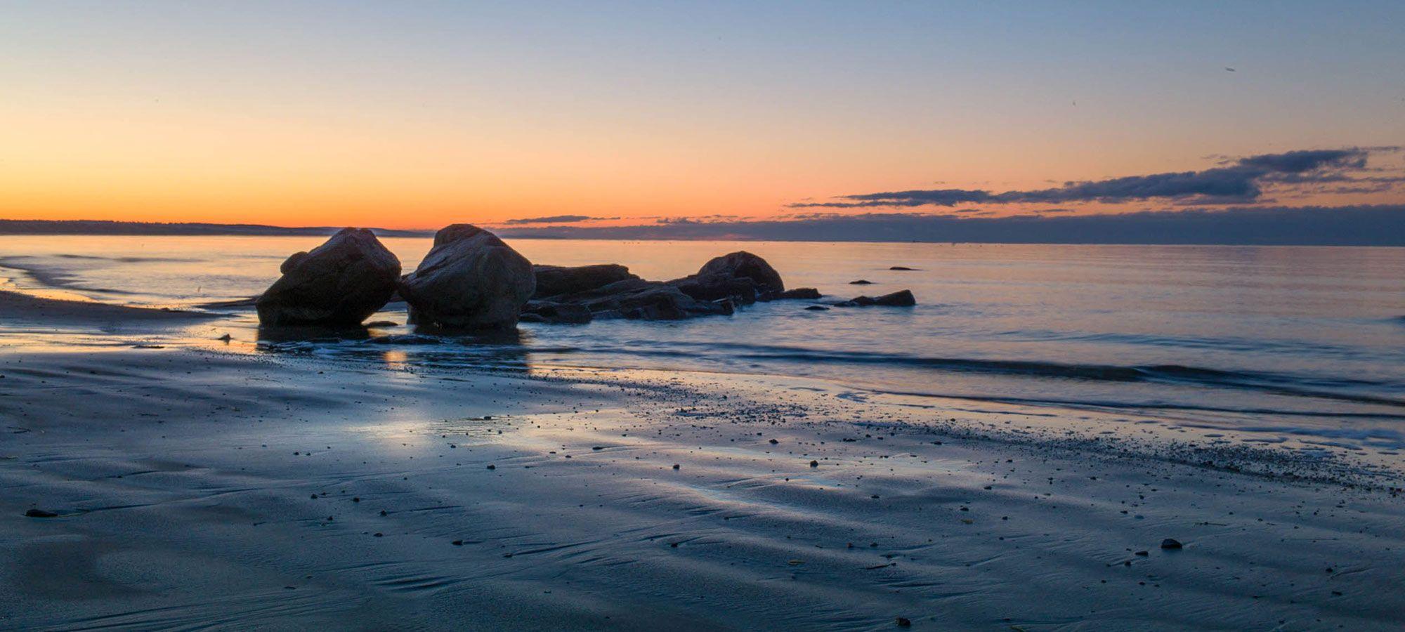 Sonnenaufgang in Schweden