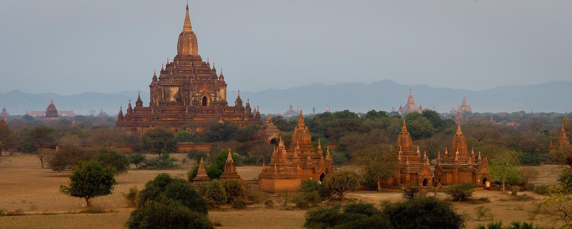 Tempel in der Ebene von Bagan