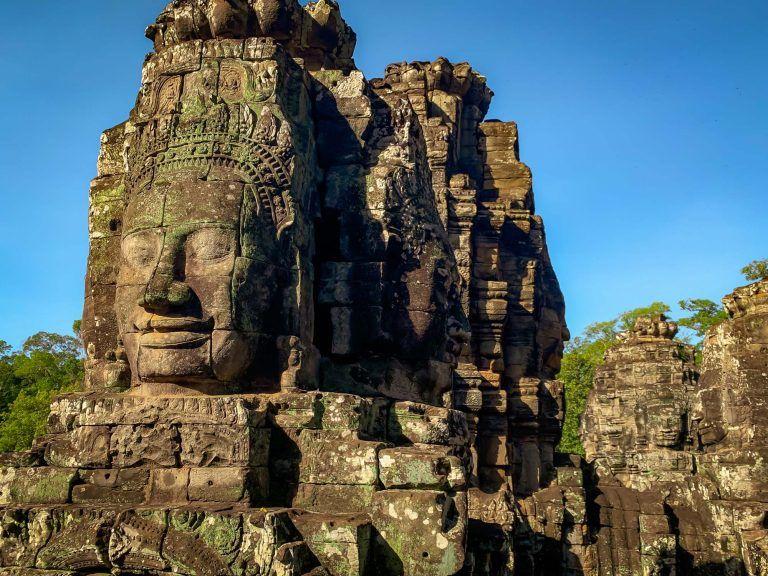 Gesichter der Tempel von Angkor Wat