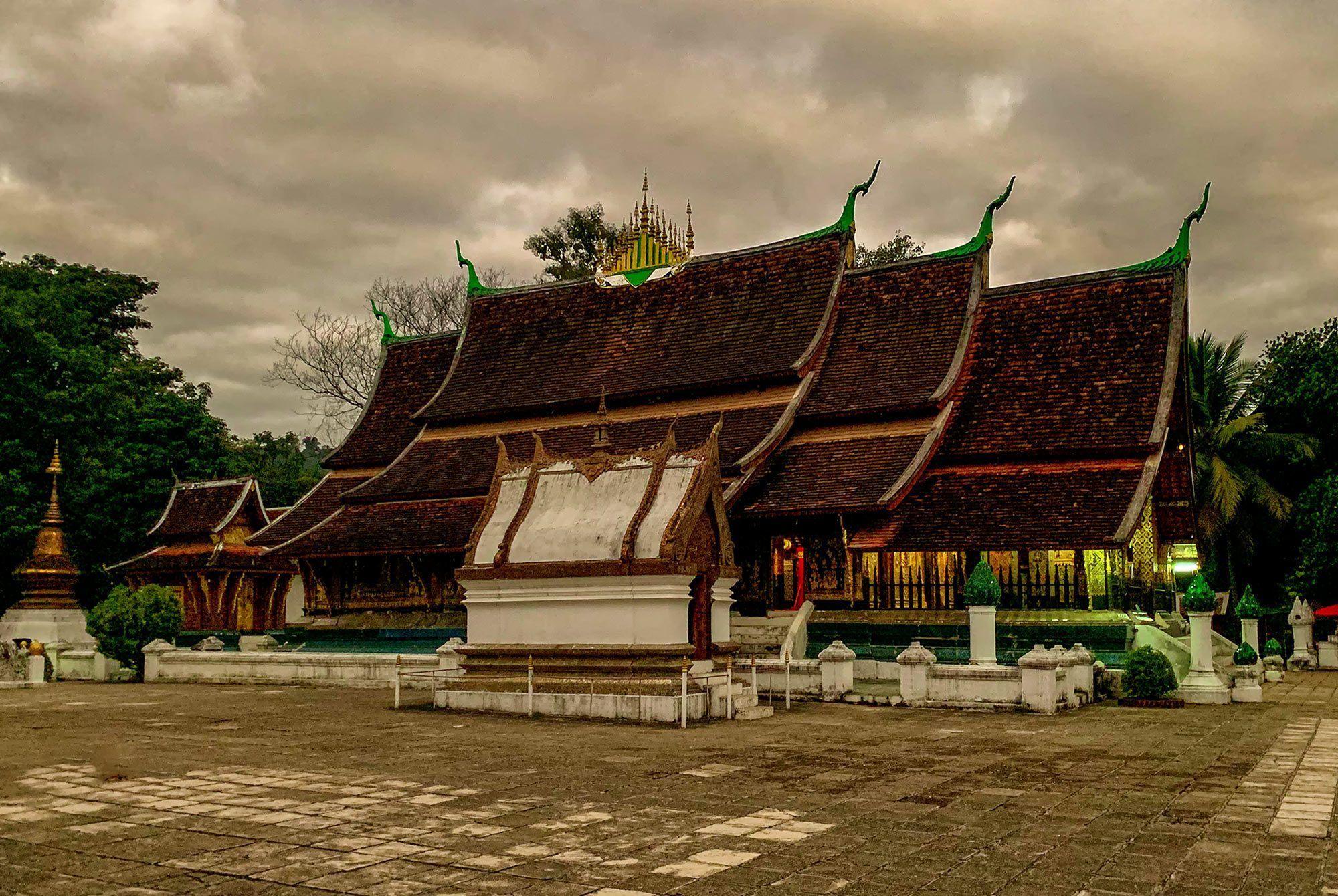 Wat Xienthong im Morgengrauen