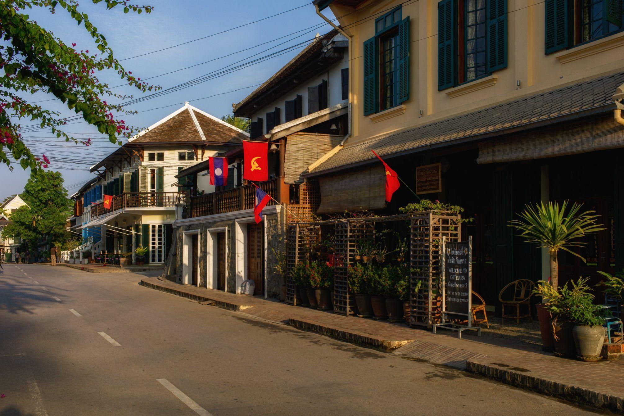 Hauptstrasse von Luang Prabang