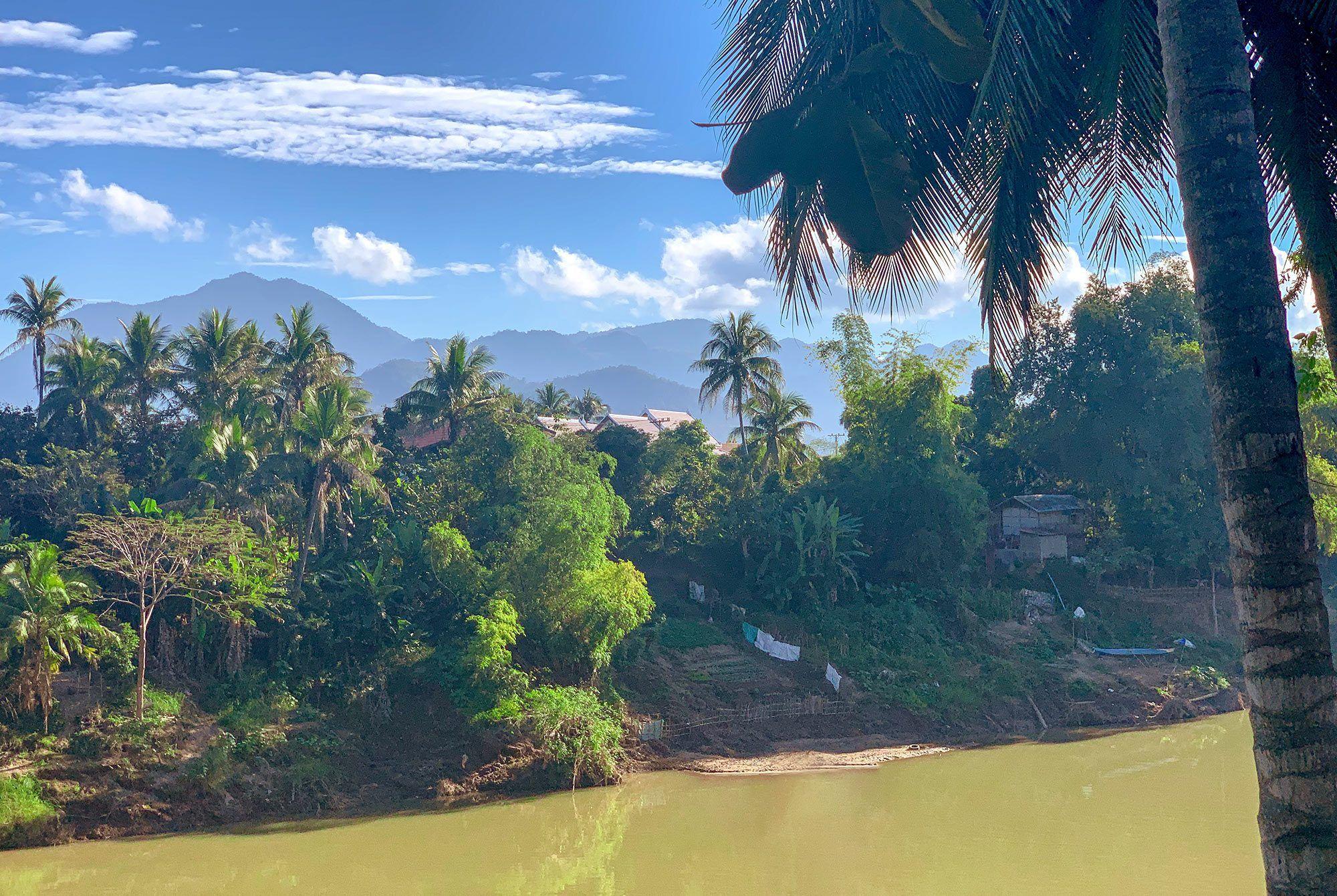 Luang Prabang Bergblick