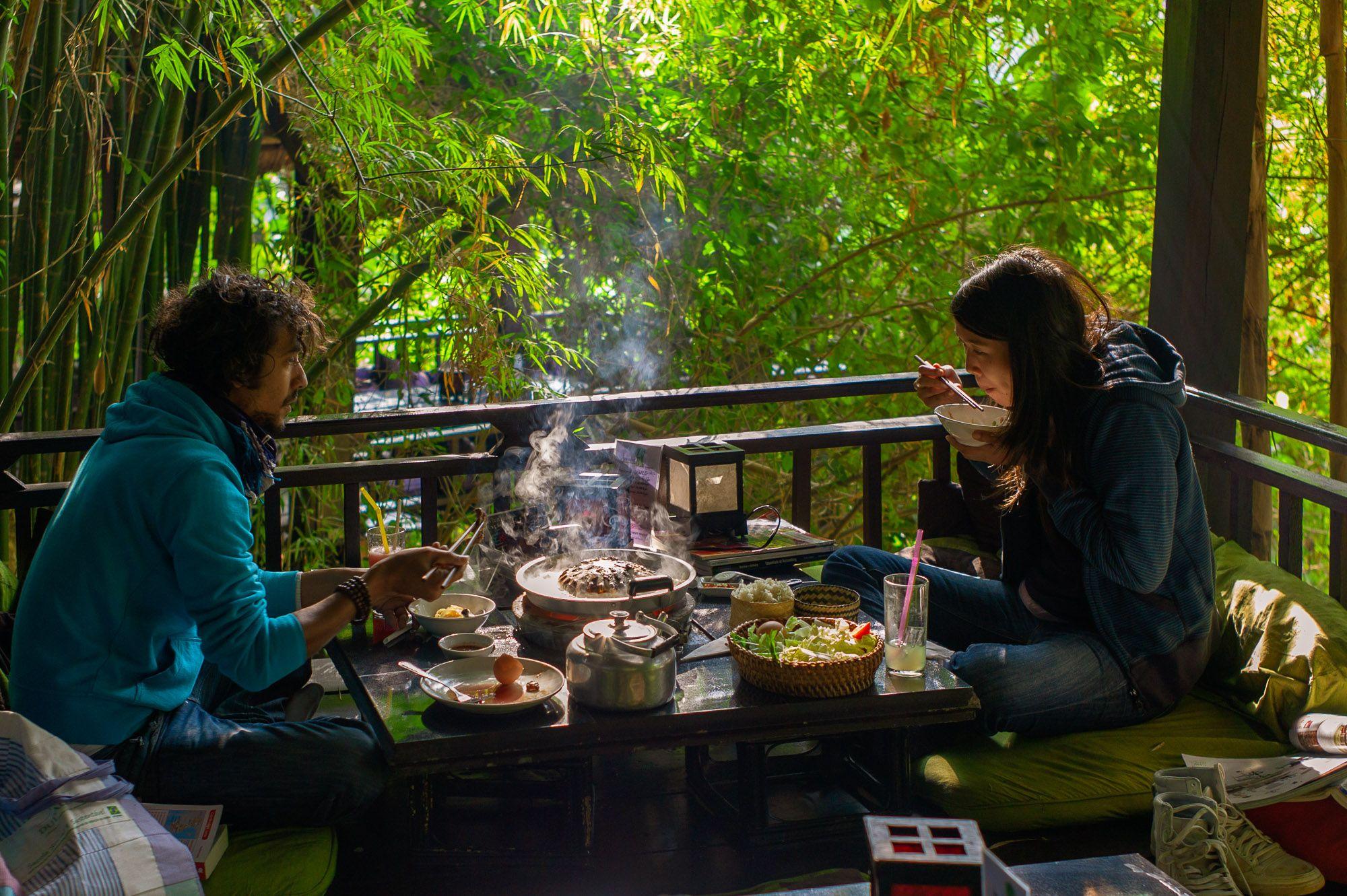 Lao Fondue im Dyien Sabai