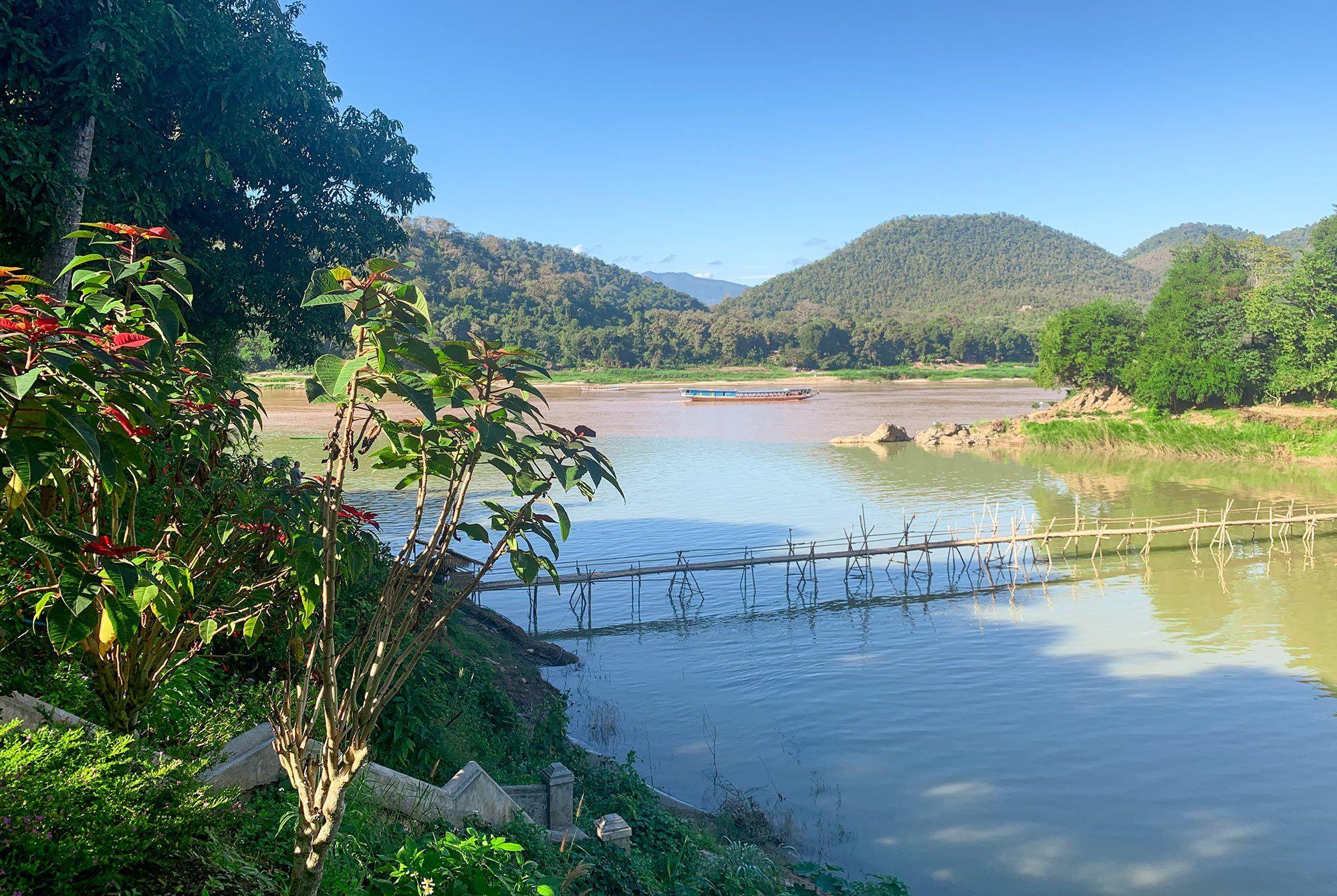 Zusammenfluss von Mekong und Namkhan