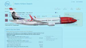 Fliegen in der Norwegian Premium Class
