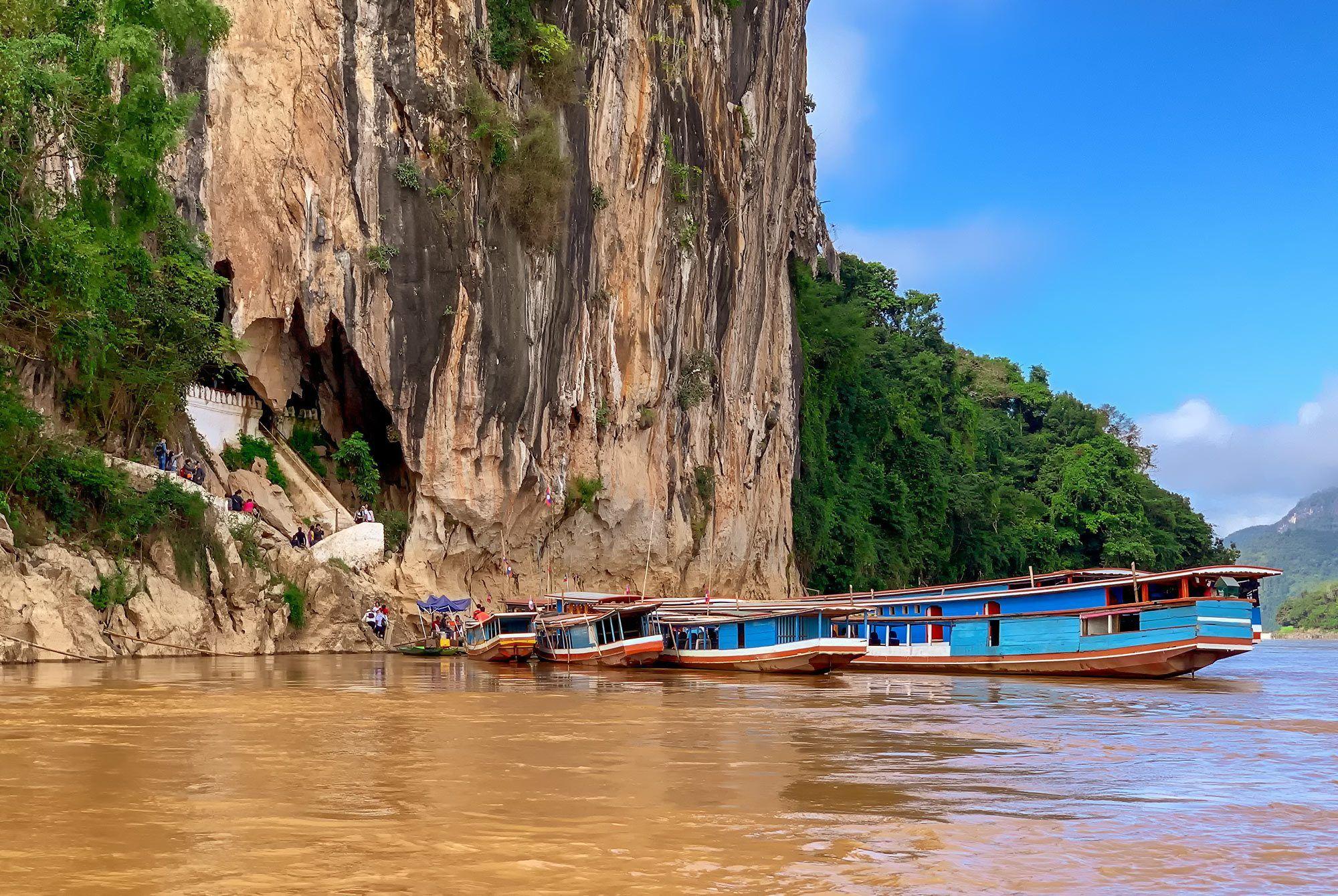 Die Höhle von Pak Ou