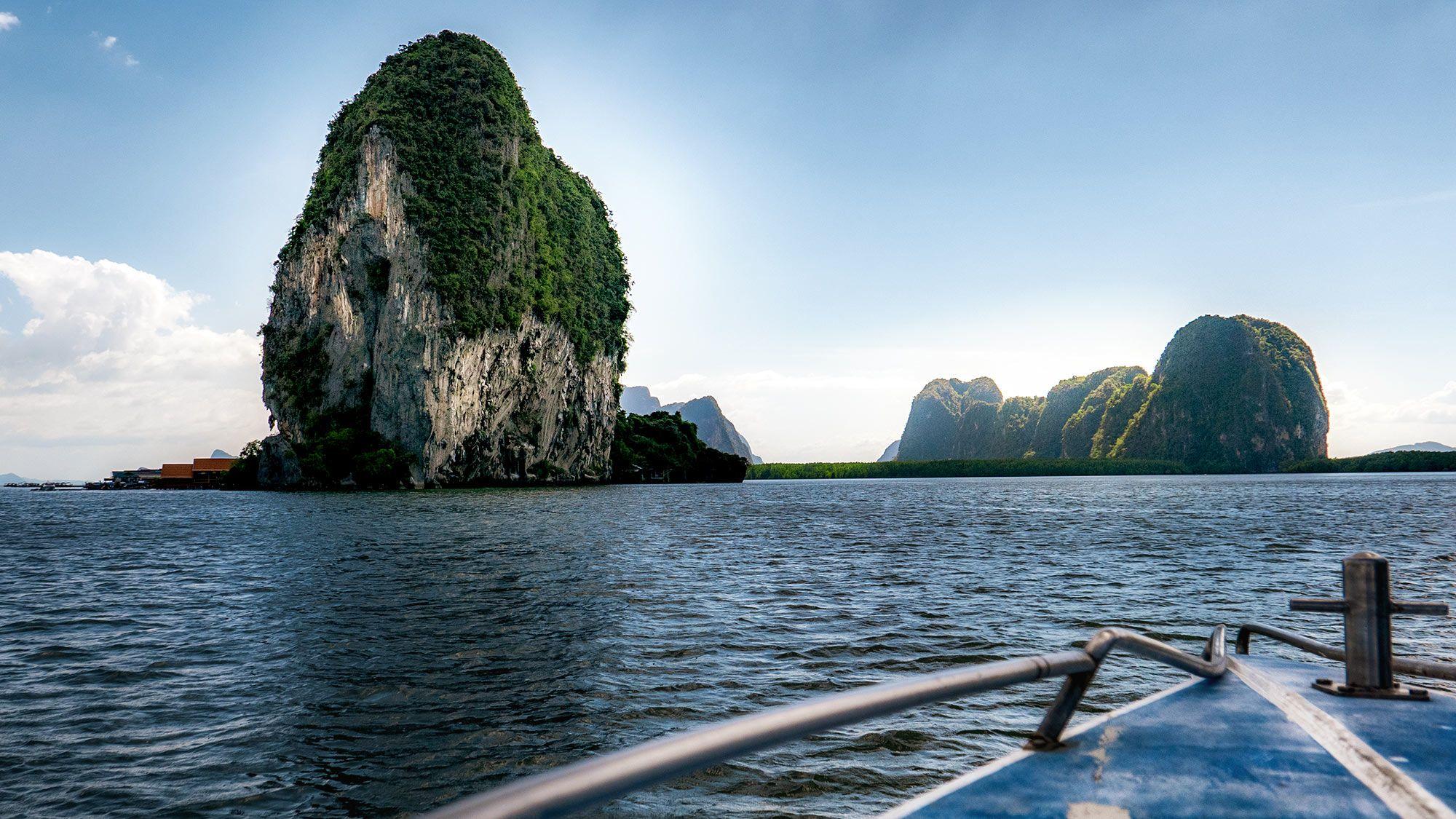 cruising the andaman sea