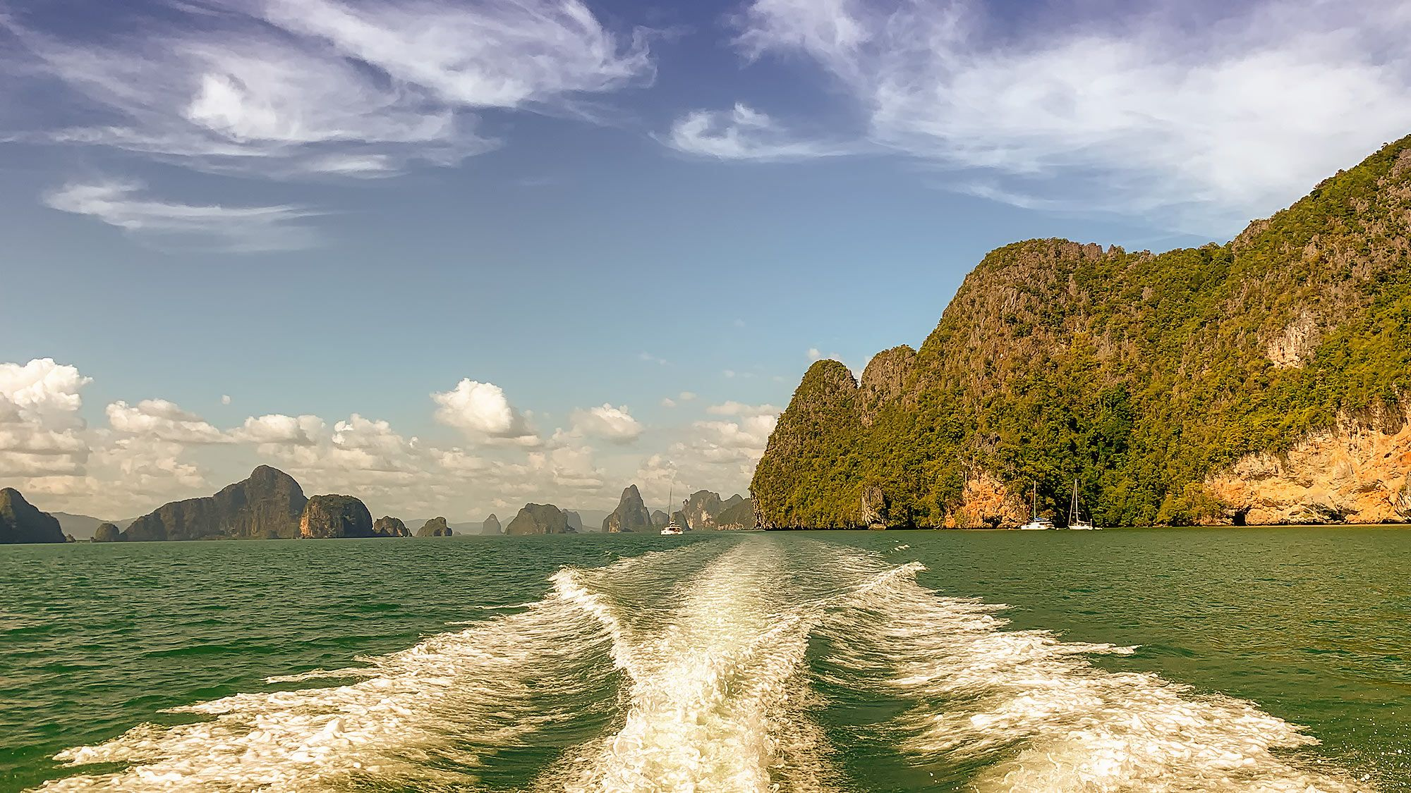 leaving James Bond Island