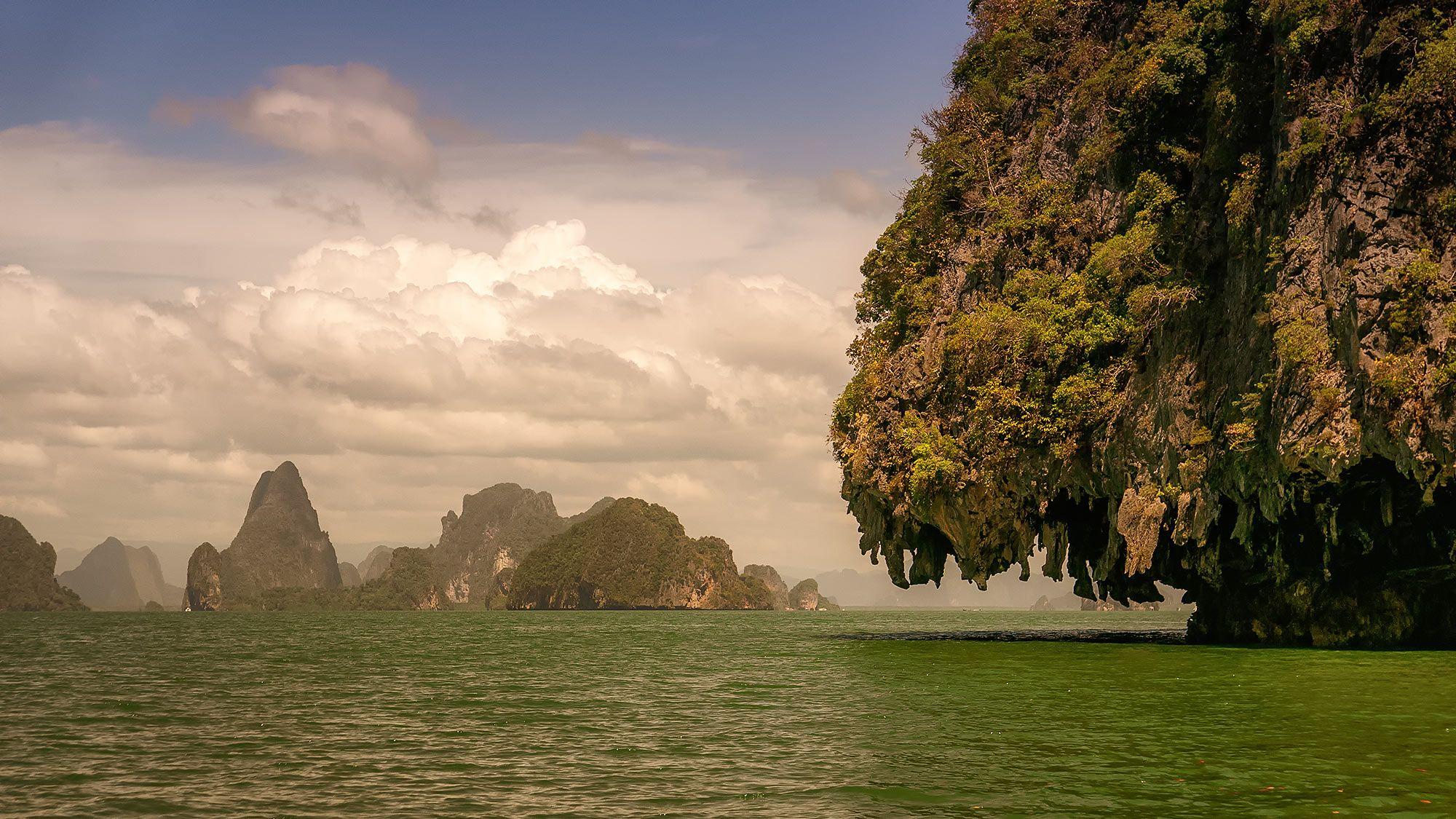 rock formation Phang Nga Bay