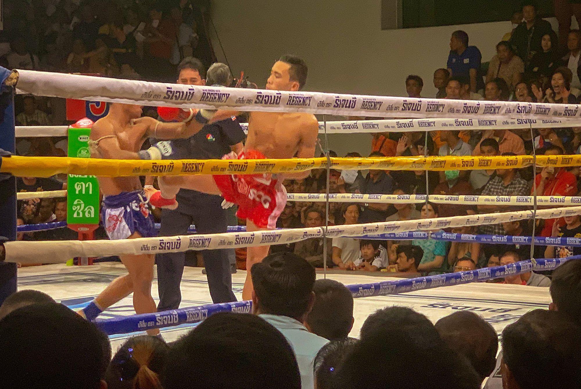 Thai Boxkampf