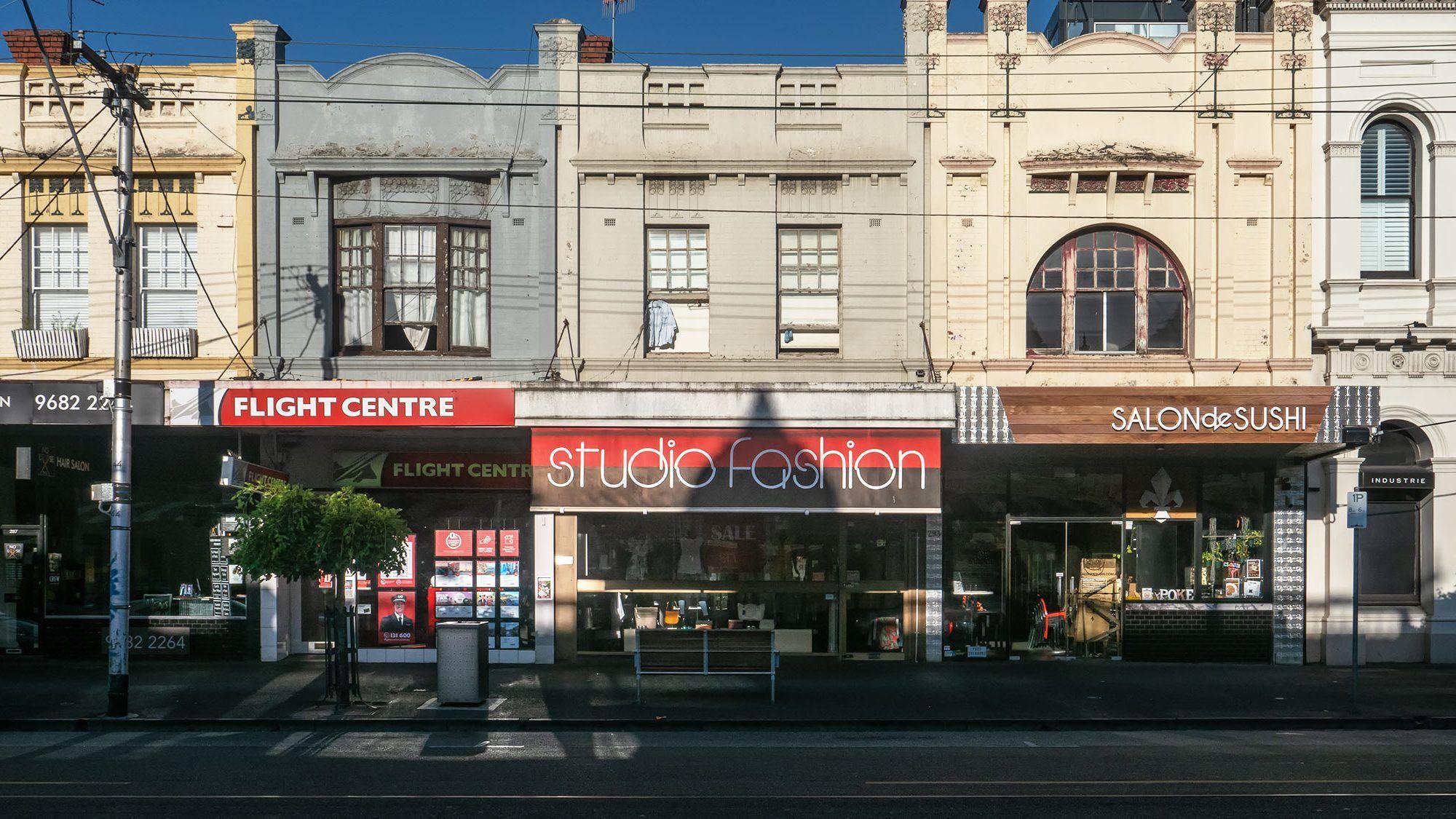 clarendon street facades