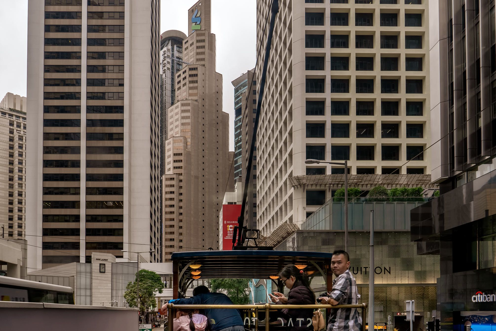Tourist Tram ist viel teurer