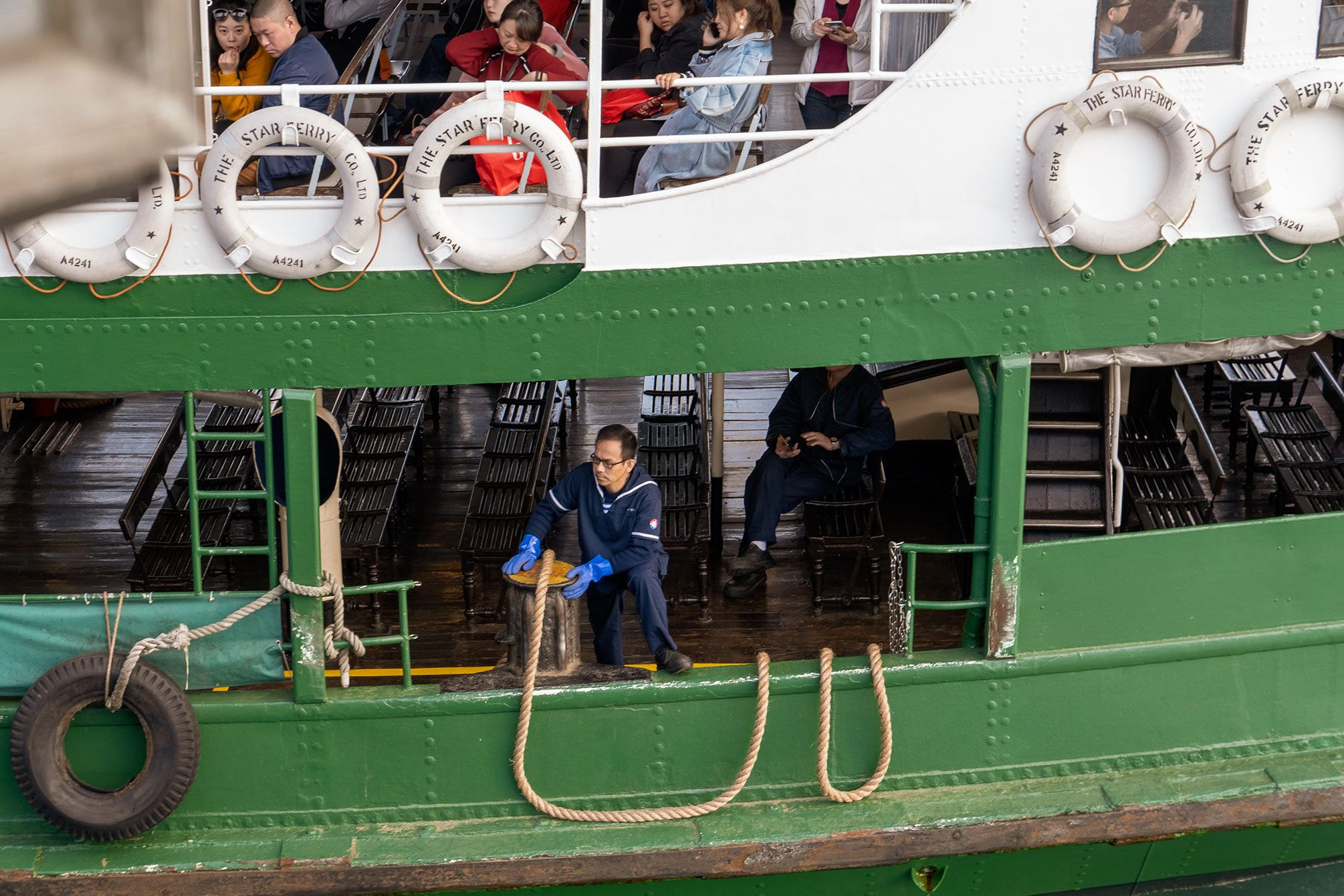 star ferry Mooring