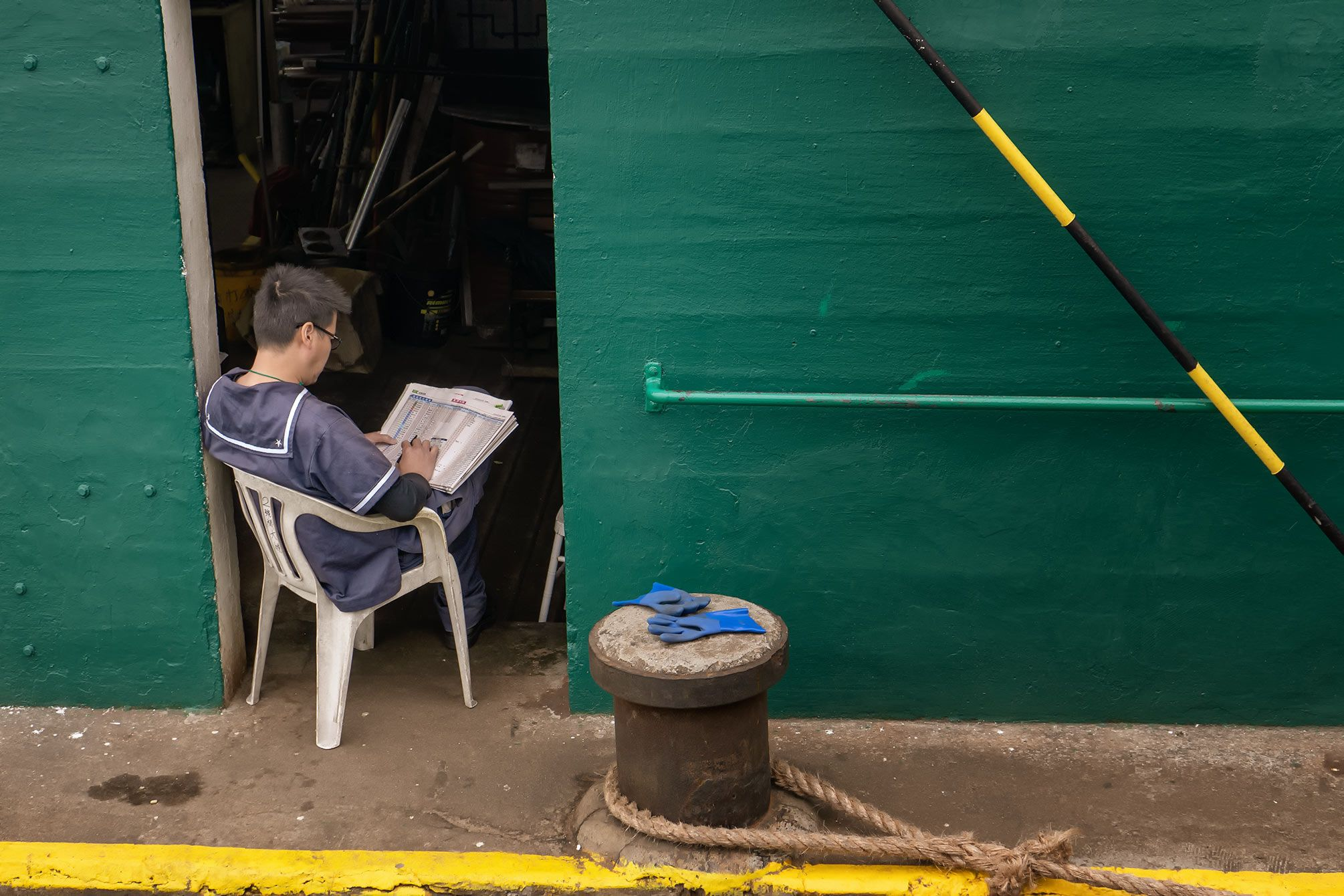 reading star ferry employee