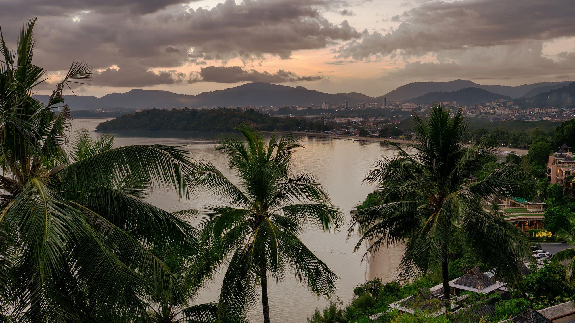 Ausblick auf Phuket Town
