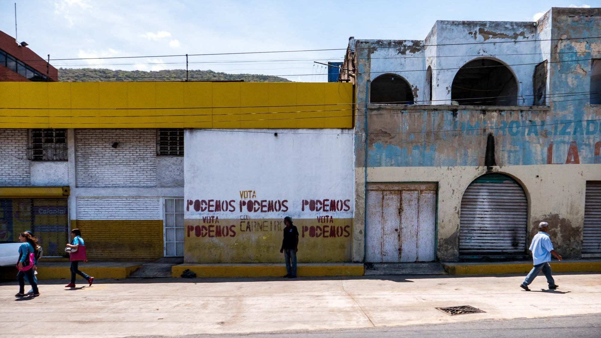 Strasse in Caracas