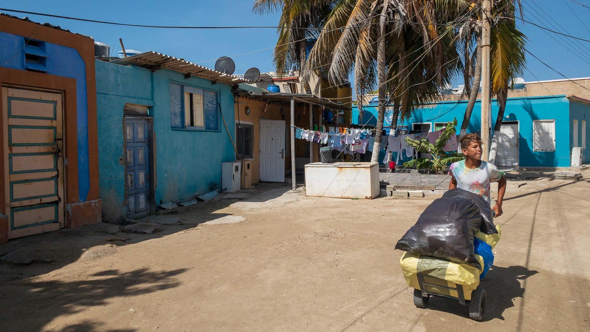 Dorfstrasse Gran Roque