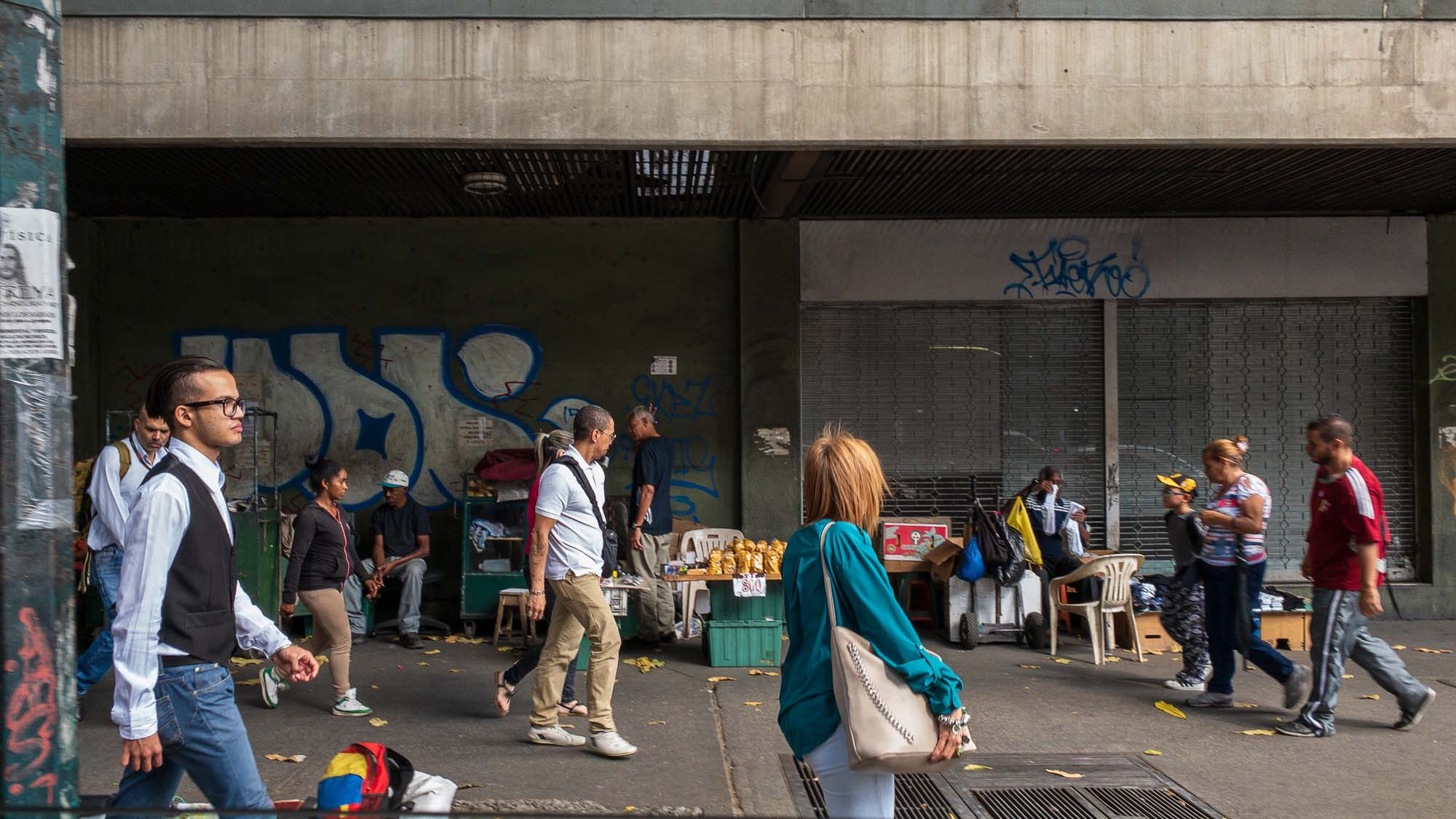 strassenszene Caracas
