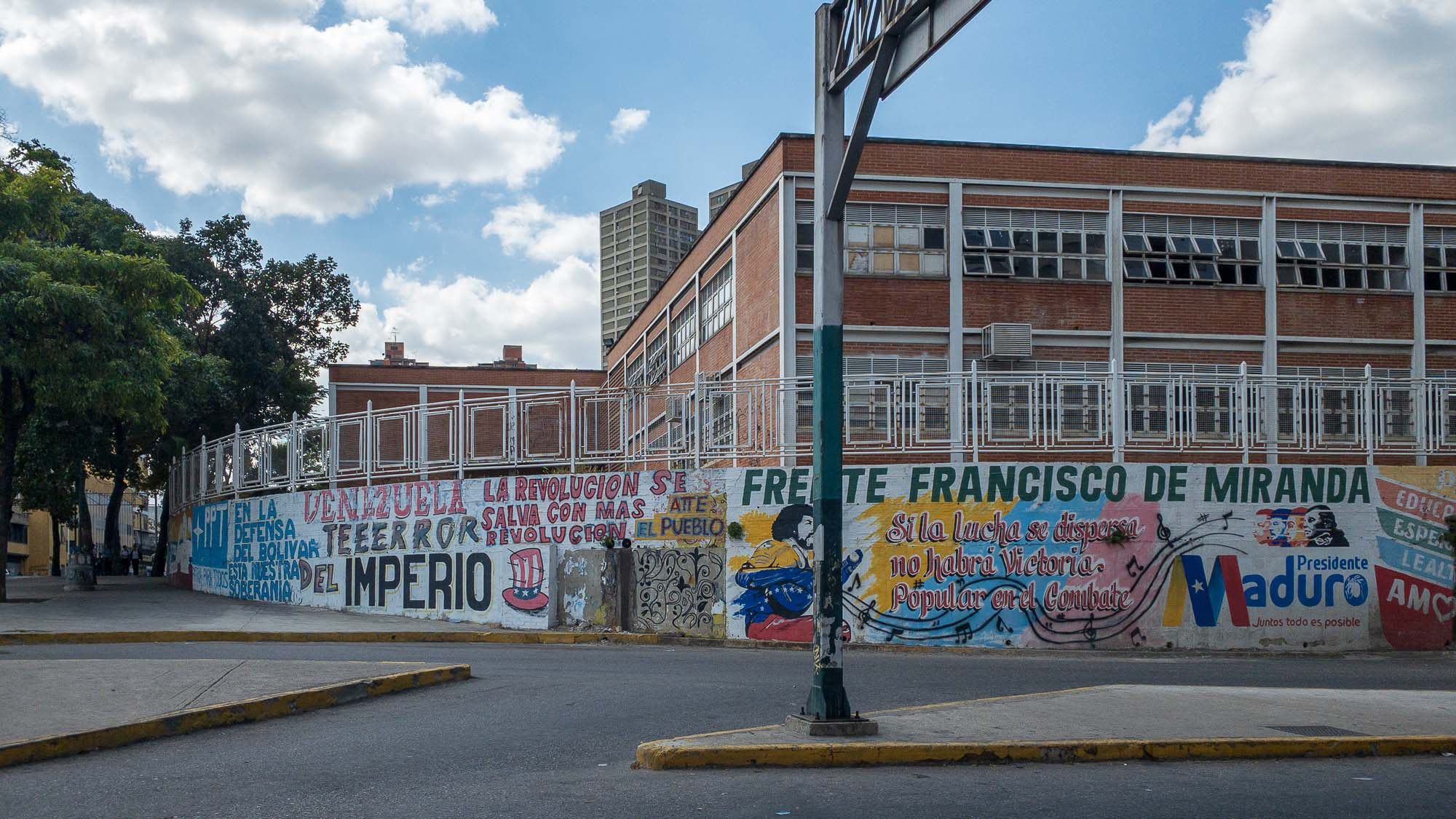 schulgebäude in Caracas