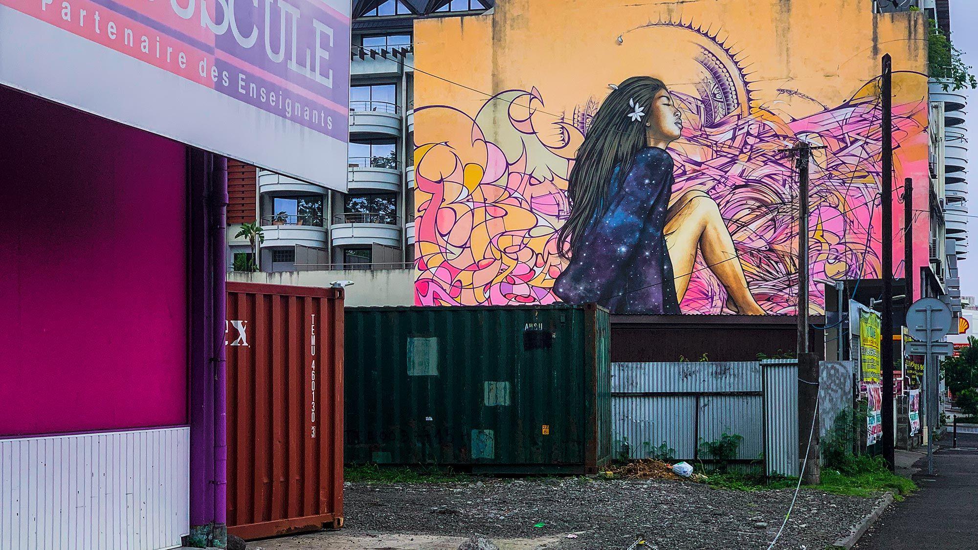 street art in tahiti