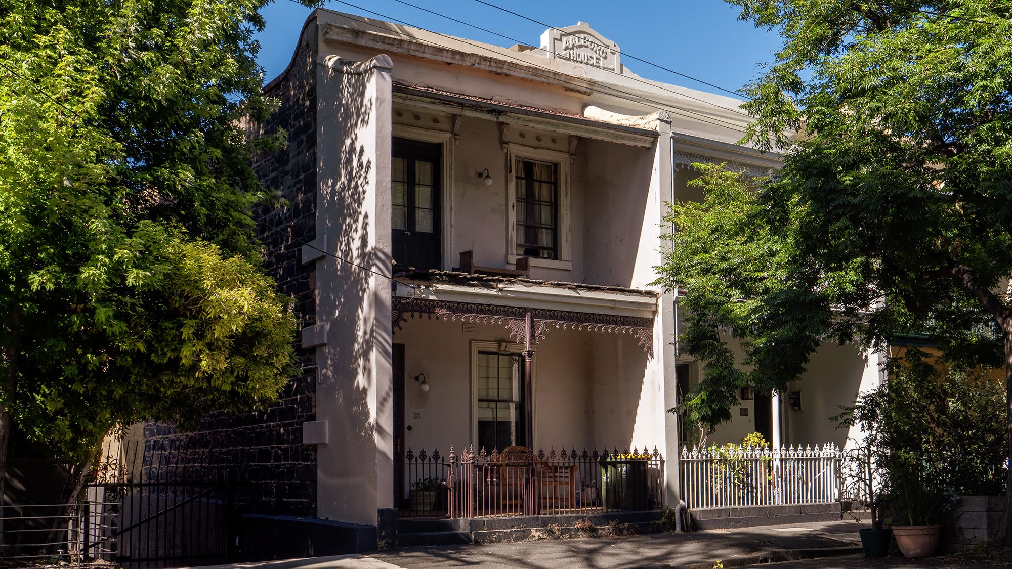 victorian home in Fitzroy