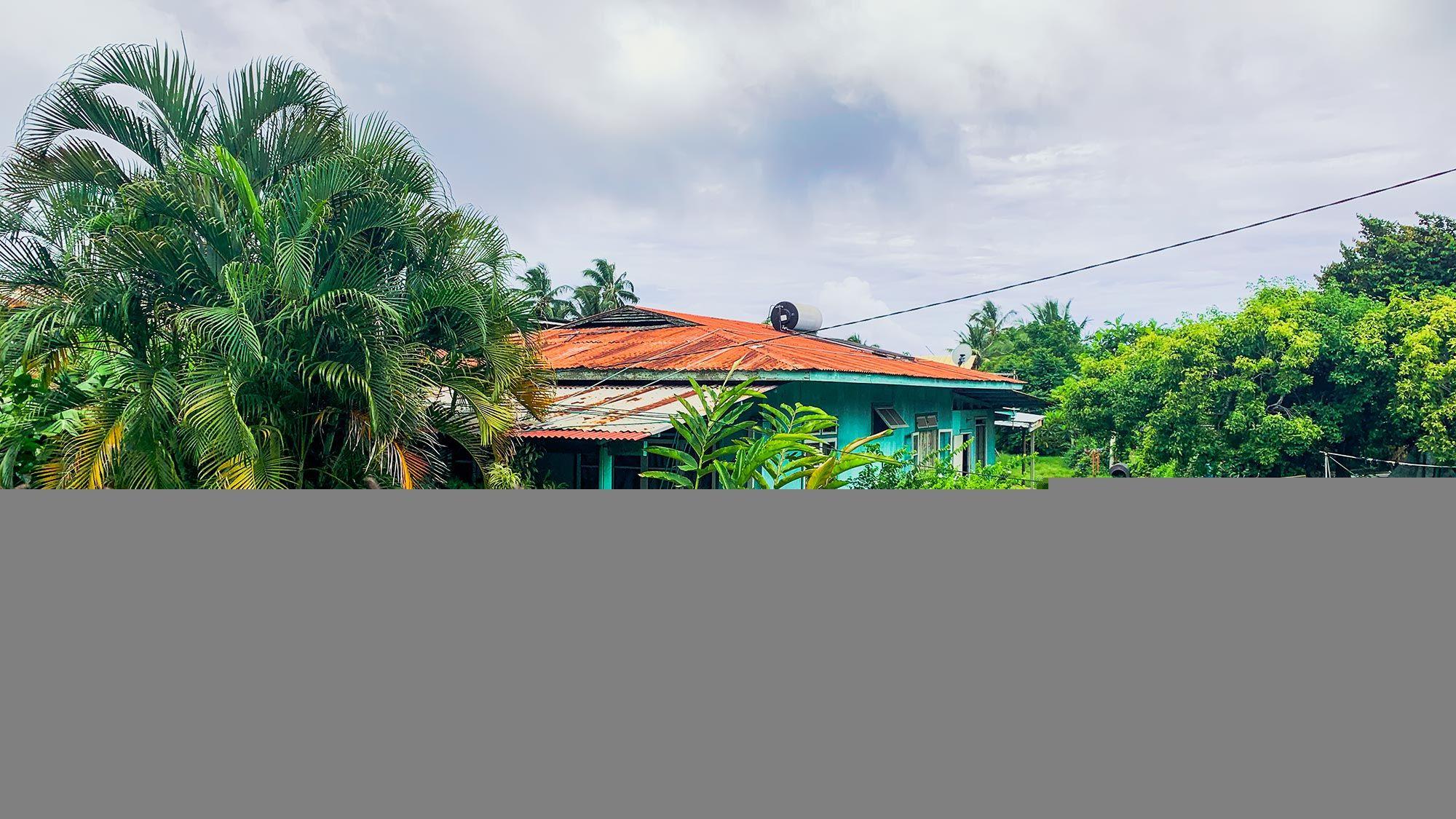 home in Tahiti