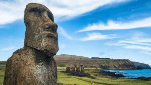Versunkene Kultur auf Rapa Nui