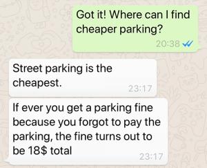Parking dilemma