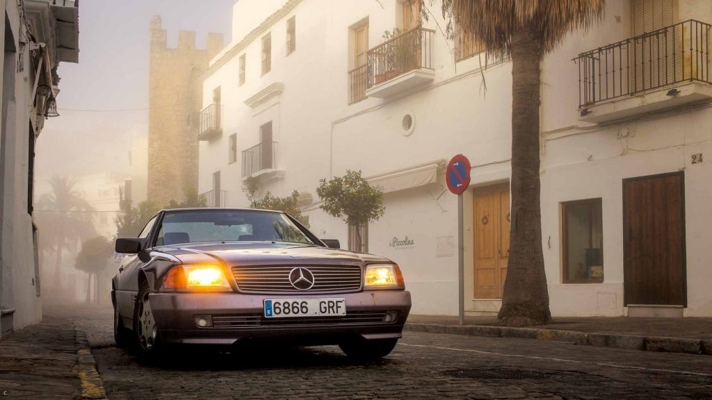 SL 500 in Andalusien