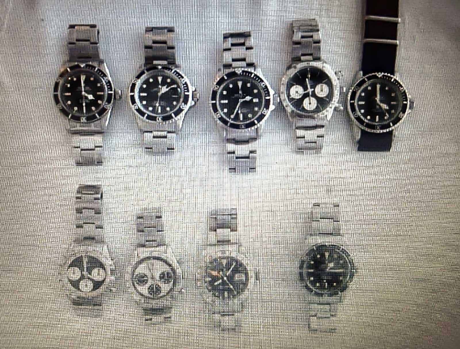 Auswahl an wertvollen Rolex Uhren