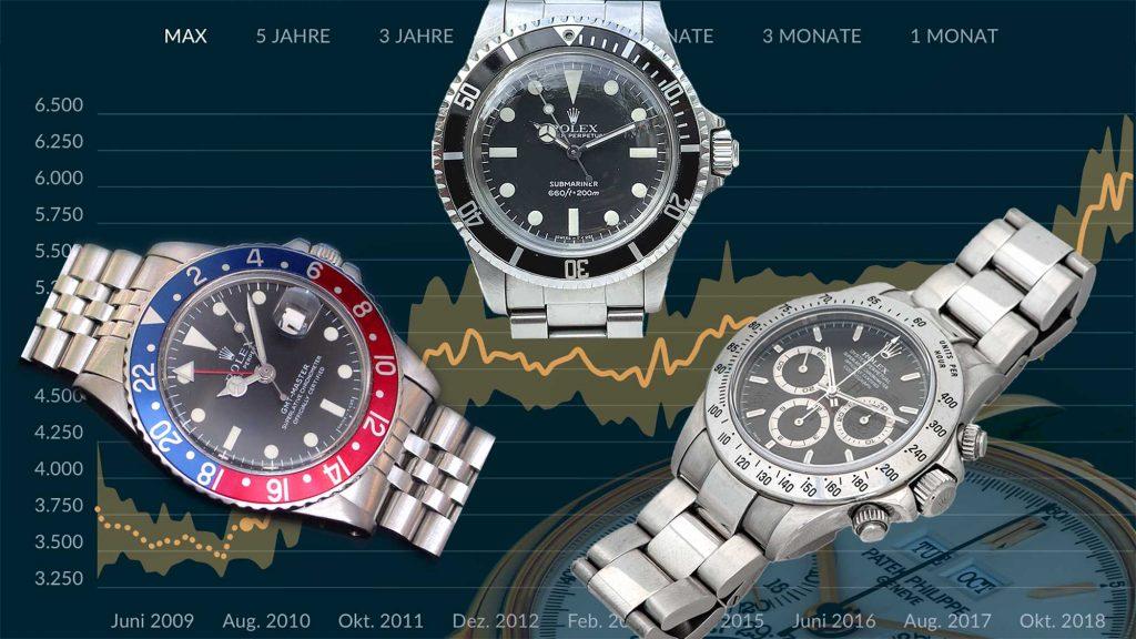 Sind Uhren eine gute Geldanlage?