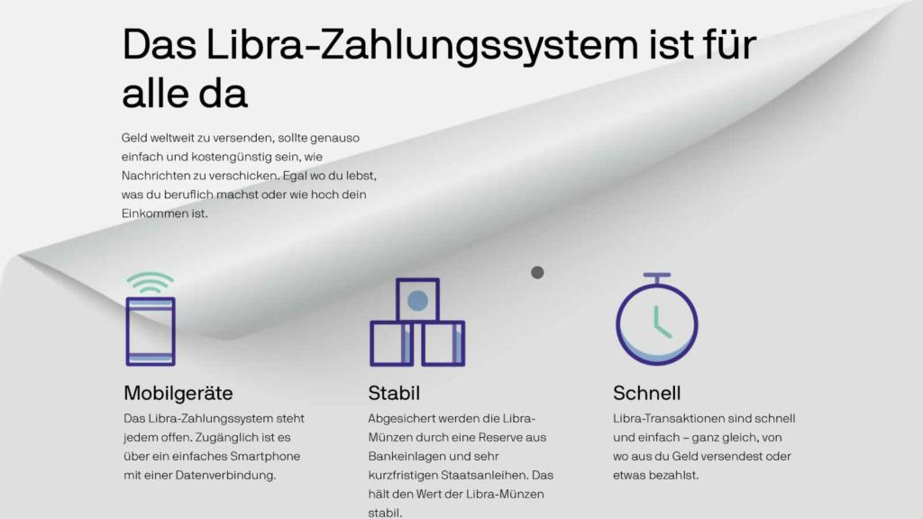 wie das Libra Zahlungssystem funktioniert
